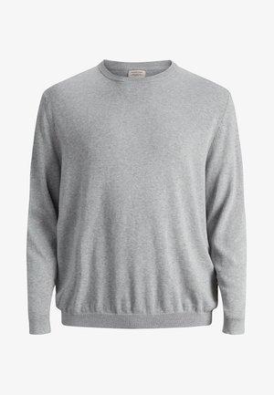 JJEBASIC CREW NECK - Jumper - light grey