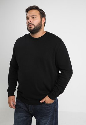 JJEBASIC CREW NECK - Pullover - black