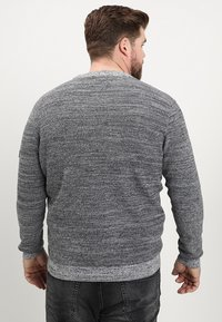 Jack & Jones - JCOCRAFT KNIT CREW NECK - Neule - light grey melange - 2