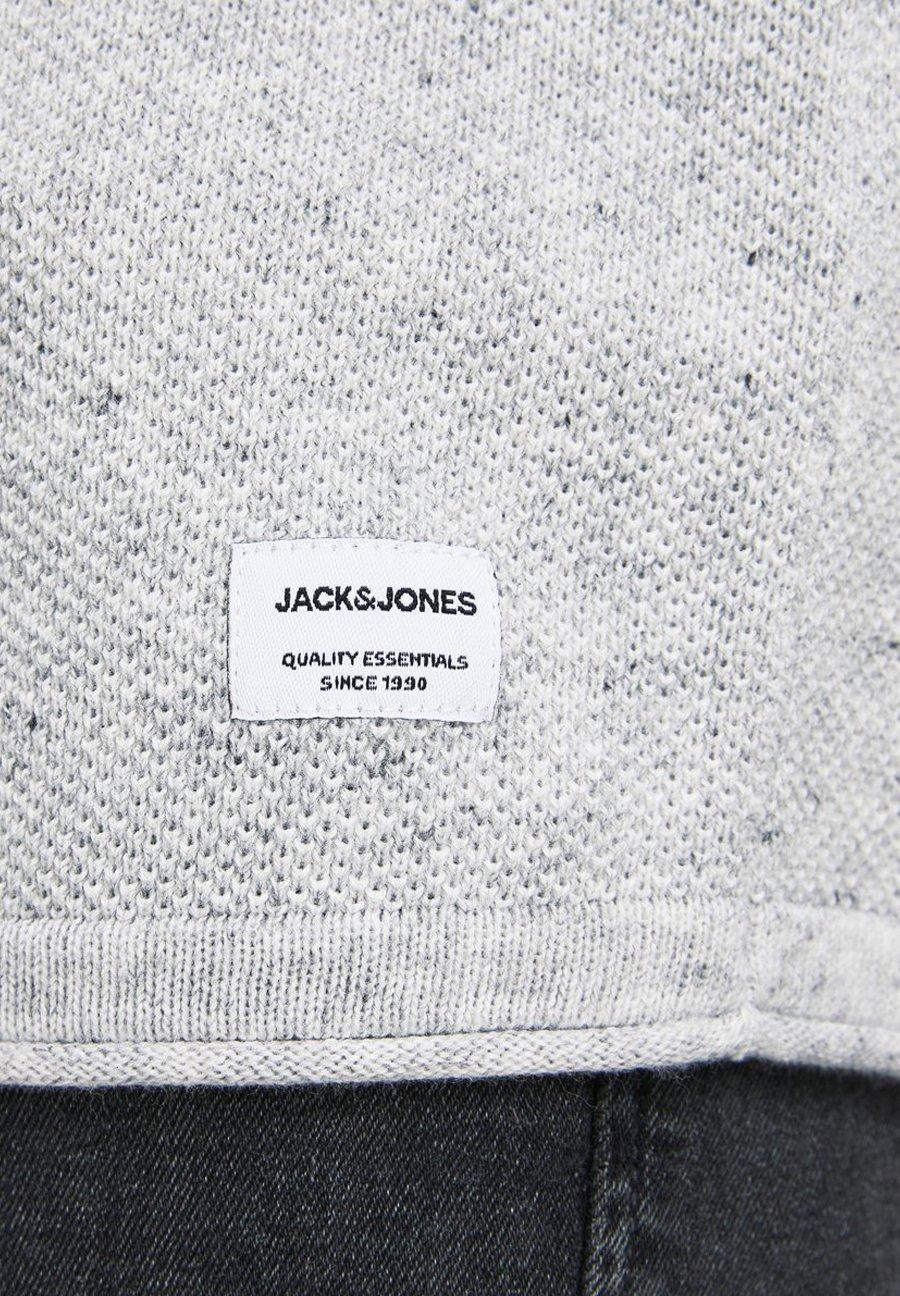Jack & Jones Jjehill - Pullover Light Grey Melange MDtKkI1