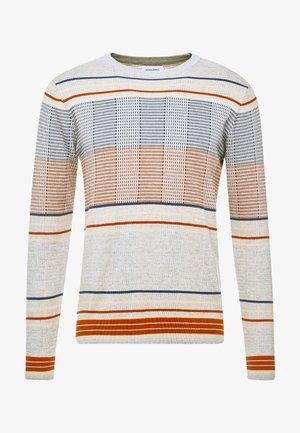 JORTURBO CREW NECK  - Pullover - light grey melange