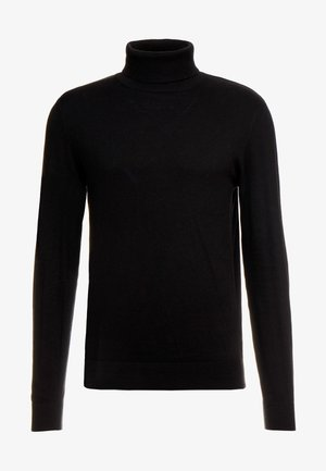 JJEEMIL ROLL NECK - Strickpullover - black