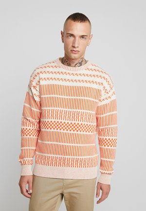 JORJEFF CREW NECK  - Neule - dusty orange