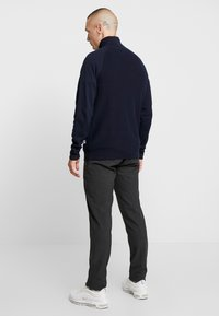 Jack & Jones - JORKLOVER HIGH NECK - Jumper - navy blazer - 2