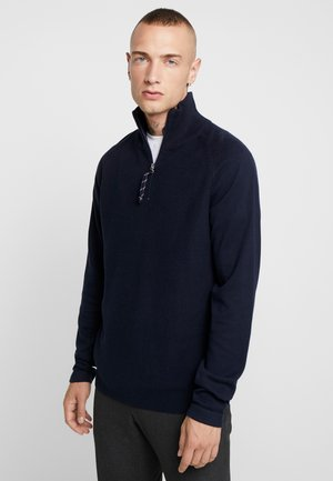 JORKLOVER HIGH NECK - Strikpullover /Striktrøjer - navy blazer