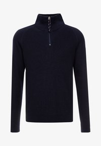 Jack & Jones - JORKLOVER HIGH NECK - Jumper - navy blazer - 4