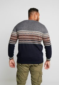 Jack & Jones - JORMADISON - Neule - grey melange - 2
