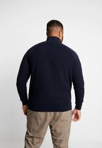 Jack & Jones - JORKLOVER HIGH NECK - Pullover - navy blazer - 2