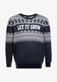 Jack & Jones - JORJINGLE CREW NECK - Jersey de punto - sky captain - 3