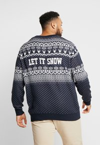 Jack & Jones - JORJINGLE CREW NECK - Jersey de punto - sky captain - 2
