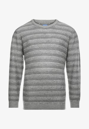 JORFLOW CREW NECK - Sweter - grey melange