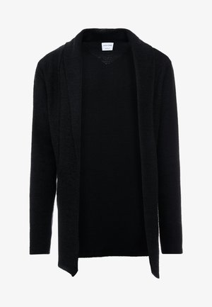 JORKEV CARDIGAN REGULAR FIT - Cardigan - black