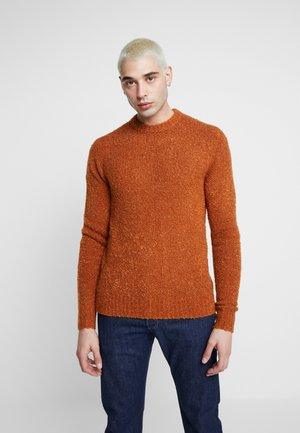 JORLAMB CREW NECK - Sweter - mocha bisque
