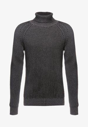 JORVENTO ROLL NECK - Pullover - grey melange