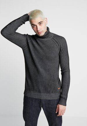 JORVENTO ROLL NECK - Trui - grey melange