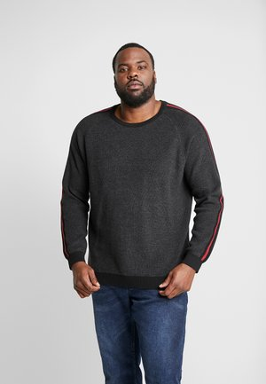 JCOCHARLES CREW NECK - Maglione - dark grey melange