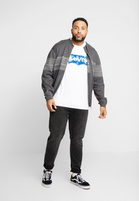 Jack & Jones - JCOSHIELD - Kardigan - dark grey melange - 1