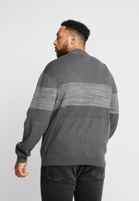 Jack & Jones - JCOSHIELD - Kardigan - dark grey melange - 2