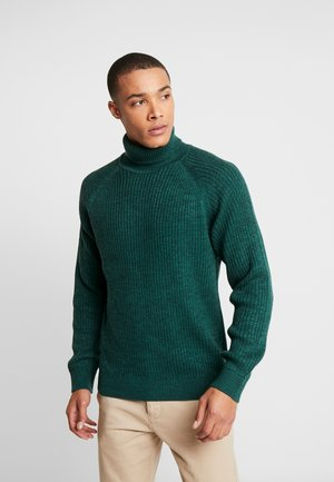 JORERIC ROLL NECK - Stickad tröja - sea moss