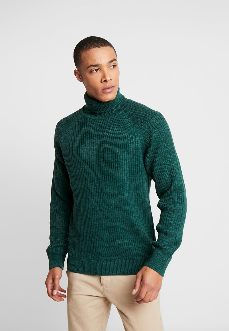 Jack & Jones - JORERIC ROLL NECK - Trui - sea moss