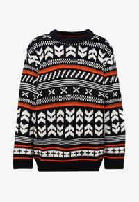 Jack & Jones - JORWINTER CREW NECK  - Jumper - tap shoe - 5