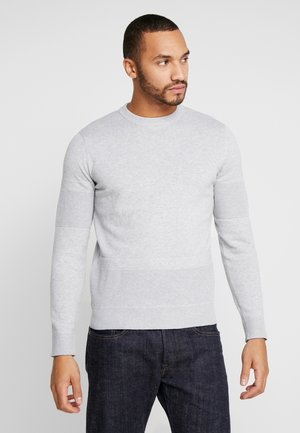 JCOSTATE CREW NECK - Neule - light grey melange
