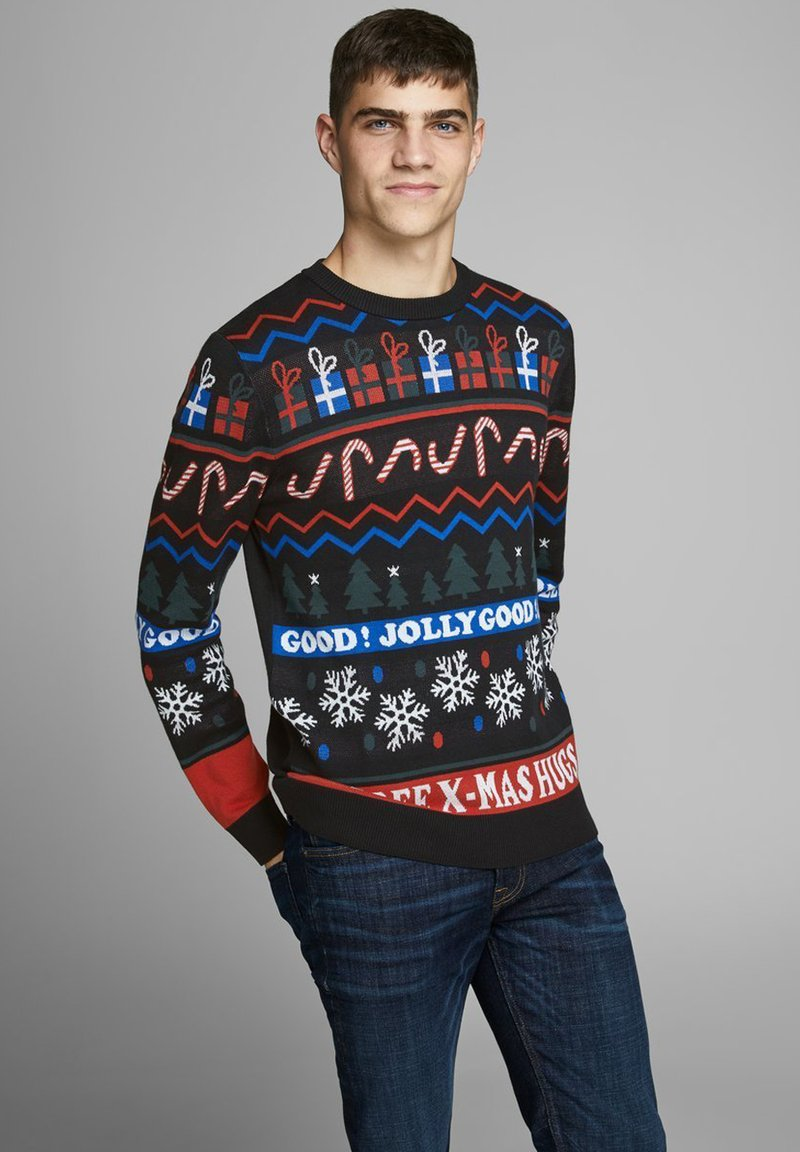 Jack & Jones - Sweater - black