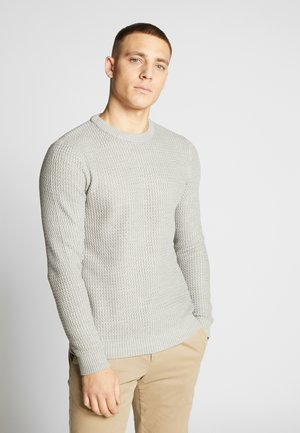 JORFIELD CREW NECK - Stickad tröja - light grey