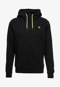 black/yellow string