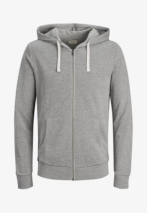 JJEHOLMEN - Sweatjakke /Træningstrøjer - mottled light grey