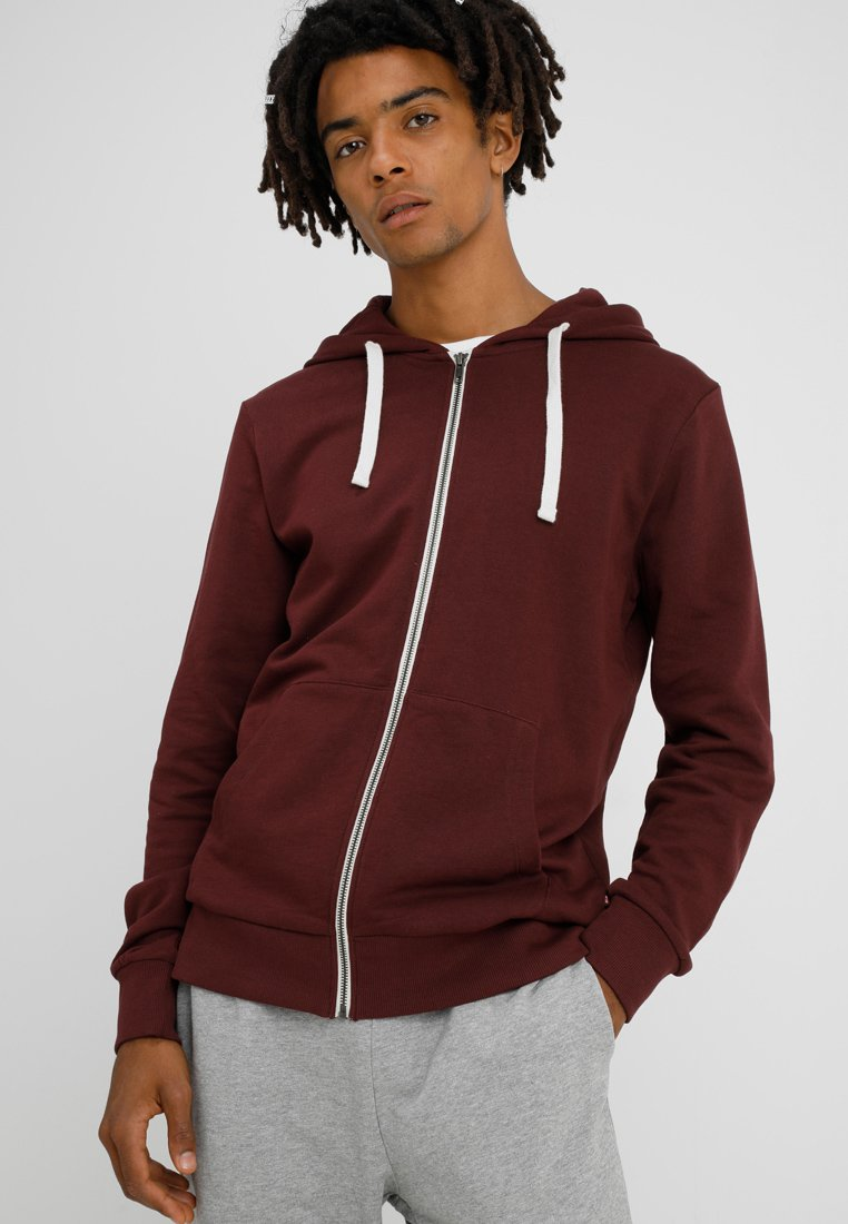 Jack & Jones - JJEHOLMEN - Sweatjacke - port royale