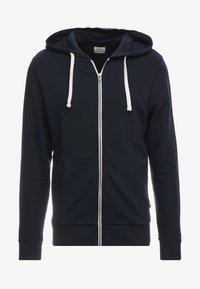 Jack & Jones - JJEHOLMEN - Zip-up hoodie - navy blazer - 4
