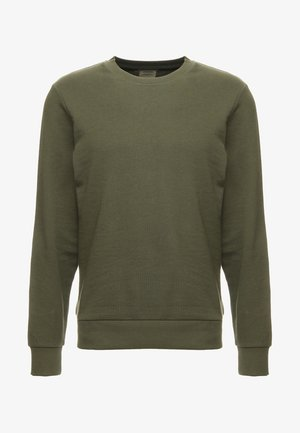 JJEHOLMEN CREW NECK - Sweatshirt - olive night