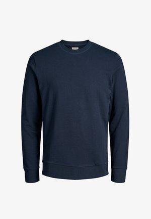 JJEHOLMEN CREW NECK - Sweater - dark-blue denim