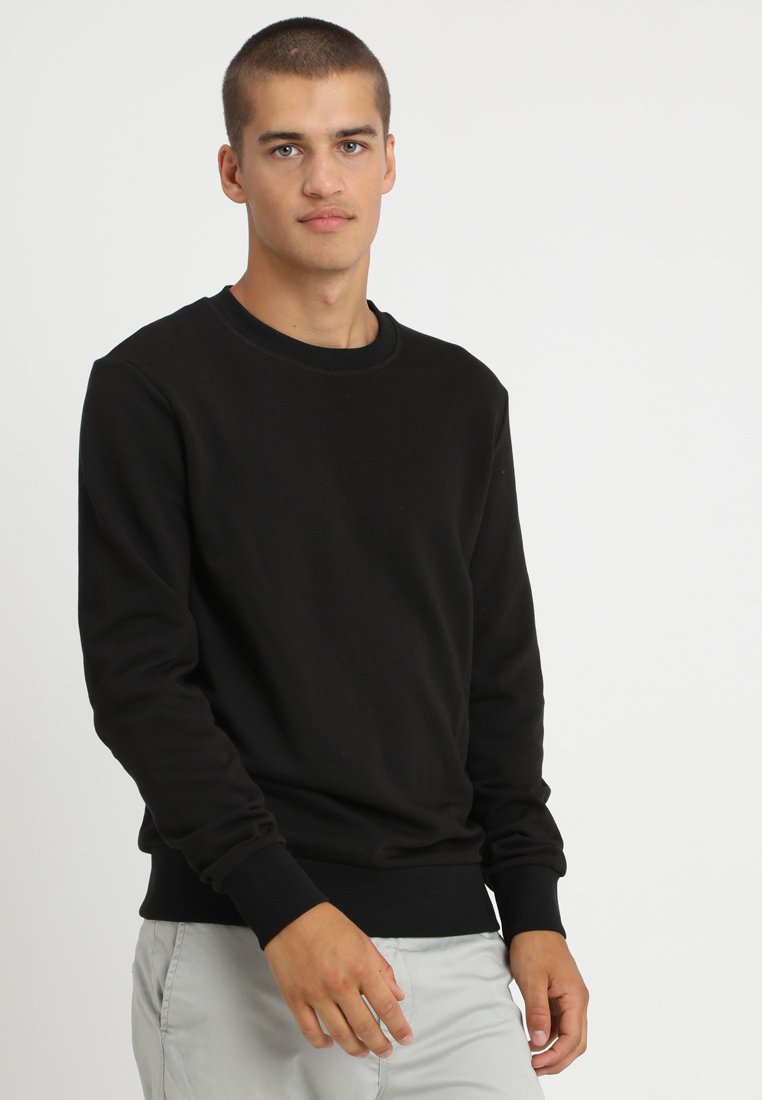 Jack & Jones - JEHOLMEN - Strickpullover - black