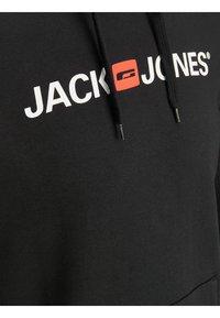 Jack & Jones - JJECORP LOGO HOOD - Kapuzenpullover - black - 3