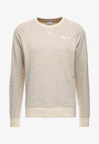 Jack & Jones - JORHIDE CREW NECK - Sweatshirt - oatmeal - 3