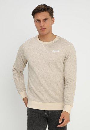 JORHIDE CREW NECK - Sweater - oatmeal