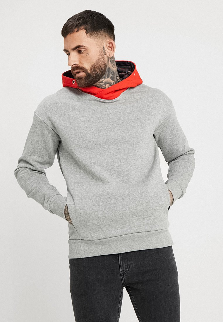 Jack & Jones - JORLENNOX - Hoodie - light grey melange