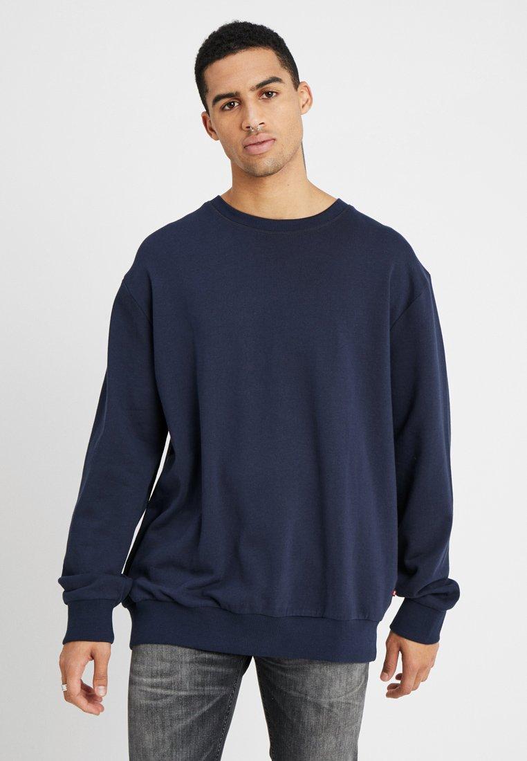 Jack & Jones - JJEHOLMEN CREW NECK - Sweatshirt - navy blazer
