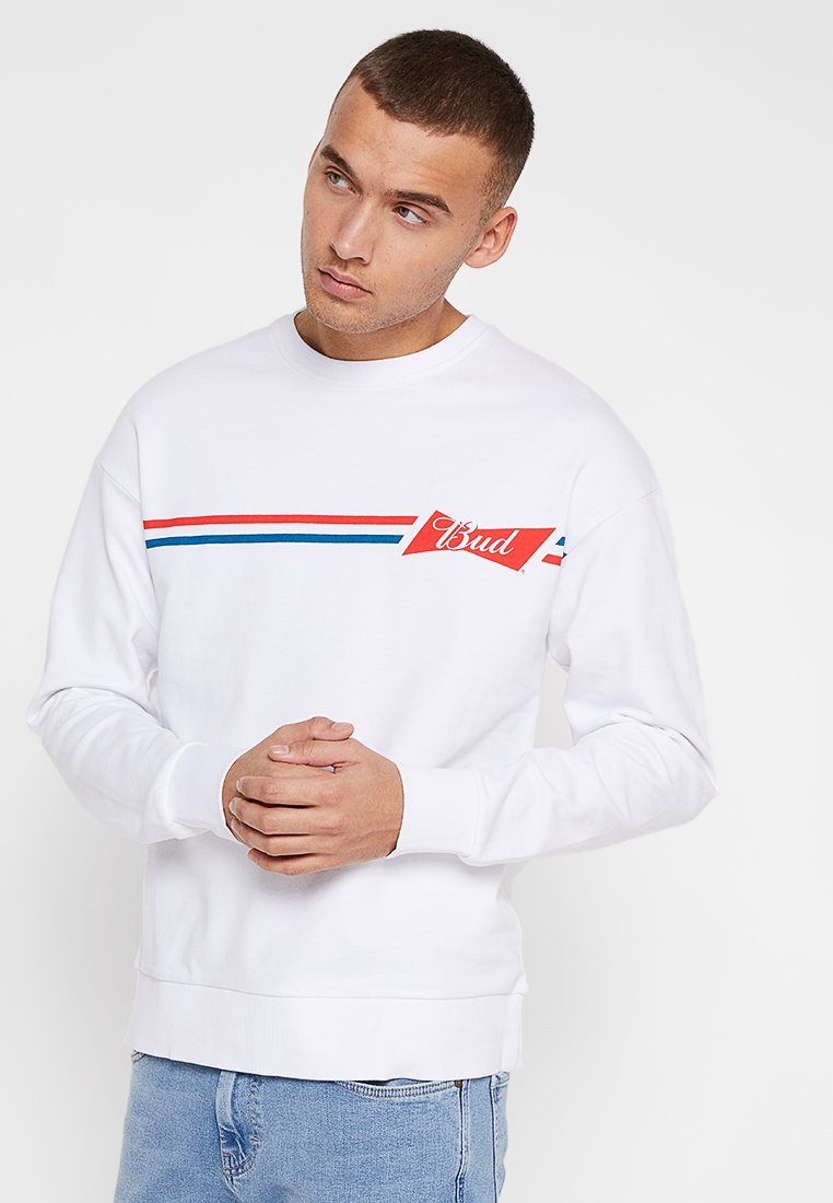 Jack & Jones - JORBUDS  - Sweatshirt - white