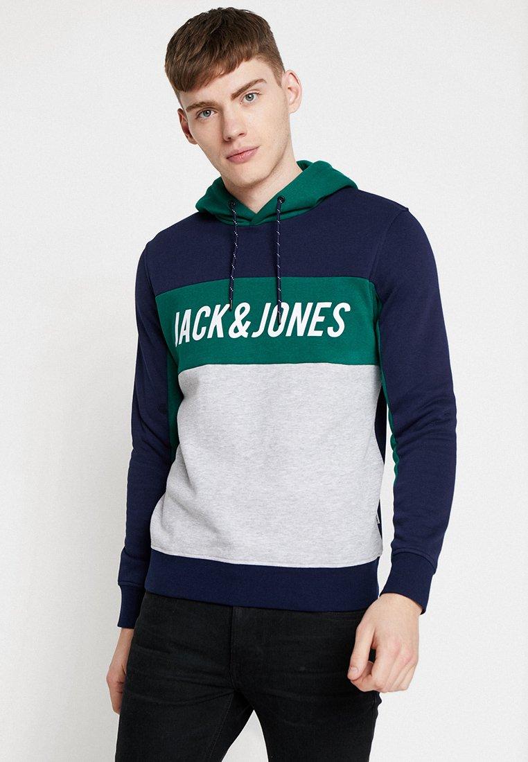 Jack & Jones - JCOSWOT HOOD - Kapuzenpullover - maritime blue