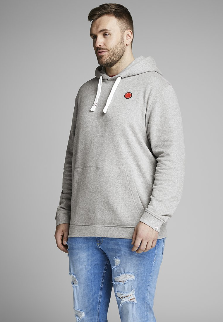 Jack & Jones - Hoodie - light grey melange