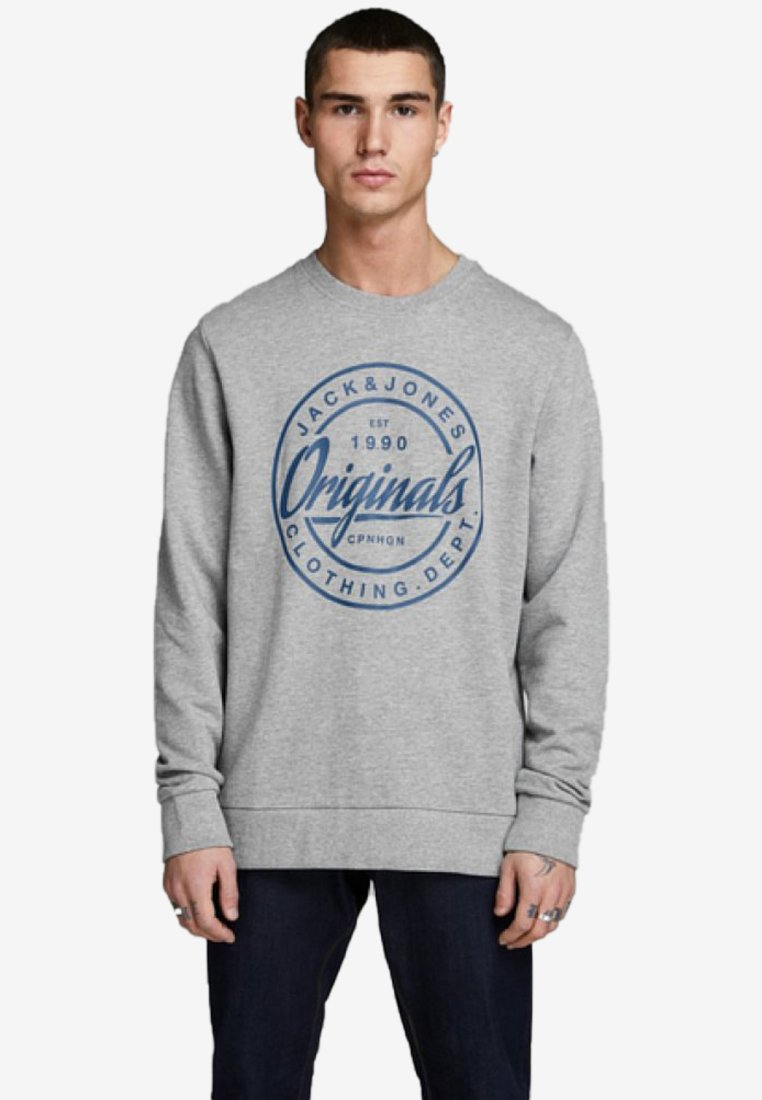 Jack & Jones - Sweatshirts - light grey melange