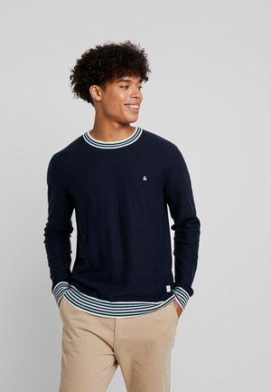 JORFOLLOW CREW NECK - Sweter - navy blazer