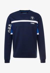 Jack & Jones - JCOLEON CREW NECK - Longsleeve - maritime blue - 3