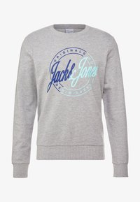 Jack & Jones - JORRIVAL CREW NECK - Sweater - light grey melange - 3