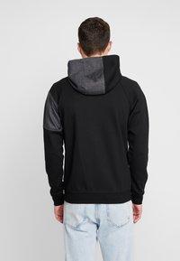 Jack & Jones - JCOTAKE ZIP HOOD - Zip-up hoodie - black - 2