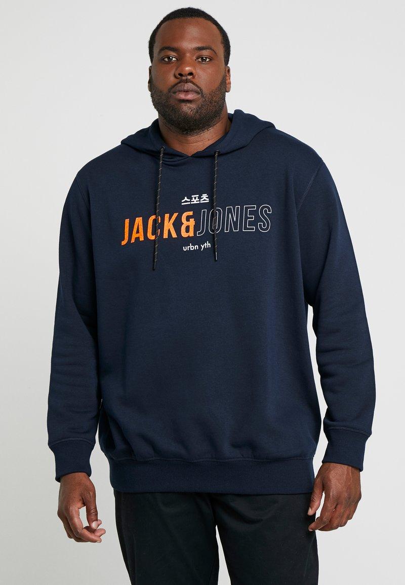 Jack & Jones - JCOMONDO HOOD - Hoodie - sky captain