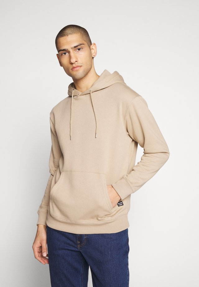 JJESOFT SWEAT HOOD NOOS - Luvtröja - crockery